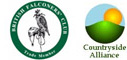 Members of :  British Falconers Club  &  Countryside Alliance